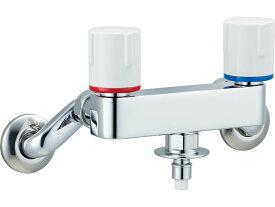 INAX[イナックス]・LIXIL[リクシル] SF-WL63KQ 洗濯機用水栓金具 露出タイプ(屋内専用) 緊急止水弁付2ハンドル混合水栓 【沖縄・北海道・離島は送料別途必要です】