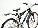 【OGK MF-018】 MF-018(ATBフェンダー)カラー/ブラックのみ クロスバイク マウンテンバイク フロント/リヤ