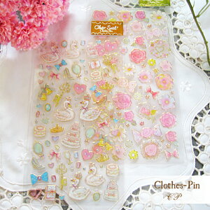 Clothes-Pin(クローズピン) たけいみきシリーズ クリアシール
