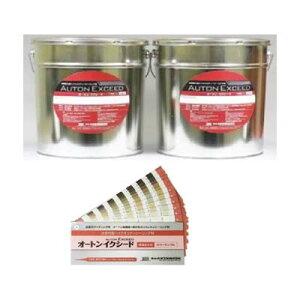 【全204色】オートンイクシード 6L×2缶 刷毛プライマー付+カラーサンプル帳(標準設定色)セット