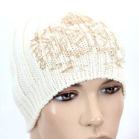 【売れ筋】RICHMOND リッチモンドウール ニット帽ZGIB 2244 0451 0003 ホワイト キャップ 帽子【新品・未使用・正規品】