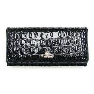 Vivienne Westwood V67V VivienneWestwood 2800 CHANCERY BLACK folding wallet