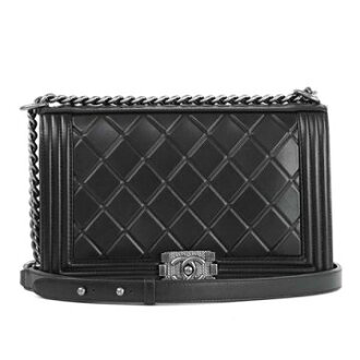 CHANEL Chanel A92193 Y10959 94305 black BK shoulder bag