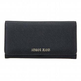 阿玛尼牛仔裤ARMANI JEANS 928541 CC857 00020 NERO长钱包黑色