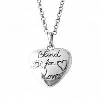 c8a303aad13 Select Shop Cavallo: Gucci GUCCI 455542-J8400-0701 BLIND FOR LOVE window  shade four love heart motif pendant necklace   Rakuten Global Market