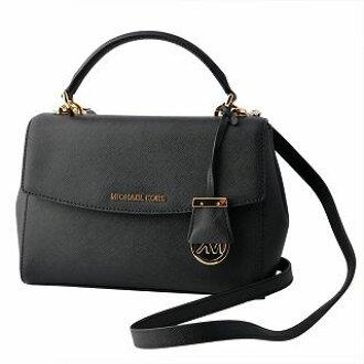 20a6109adc95a4 Select Shop Cavallo: Michael Kors MICHAEL KORS 30T5GAVS2L Black MK charm 2WAY  shoulder handbag AVA belonging to | Rakuten Global Market