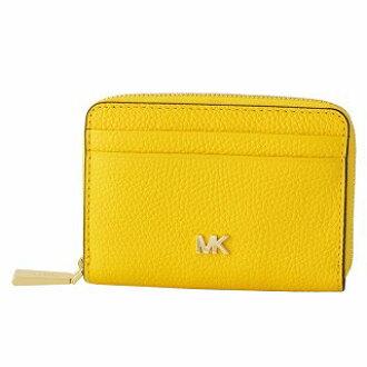 6501dd1819e7 Select Shop Cavallo  Michael Kors MICHAEL KORS 32T8GF6Z1L 719 Sunflower MK  logo zip up coin card case