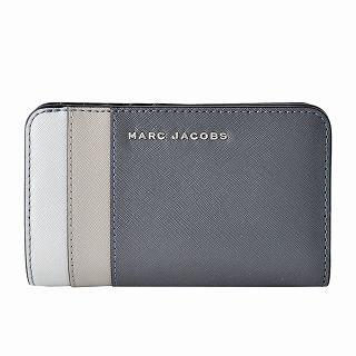 マークジェイコブス MARC JACOBS M0013706-093 サフィアノ メタル レター カラーブロック 二つ折り財布 Saffiano Metal Letters Compact Wallet【r】【新品・未使用・正規品】