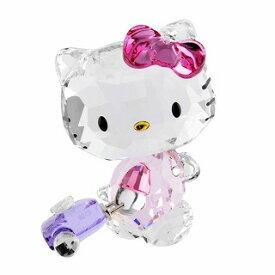 スワロフスキー SWAROVSKI 5279082 ハローキティ 「トラベラー」 クリスタルフィギュア 置物 Hello Kitty Traveller Globe Trotteuse【r】【新品・未使用・正規品】