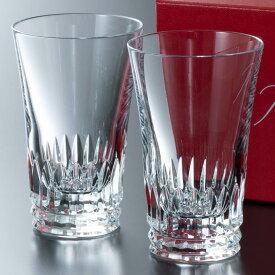 【名入れ】バカラ Baccarat 食器 コップ グラス ジャパン ティアラ 2客 セット ペア 2個 2021 新作 2814271U ガラス クリスタル 通販