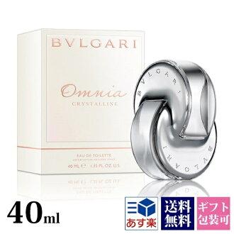 On the brand new / Bulgari perfume BVLGARI Omnia crystalline omniacristan mens ladies EDT SP 40 spray genuine / store / brands / senior sale / new