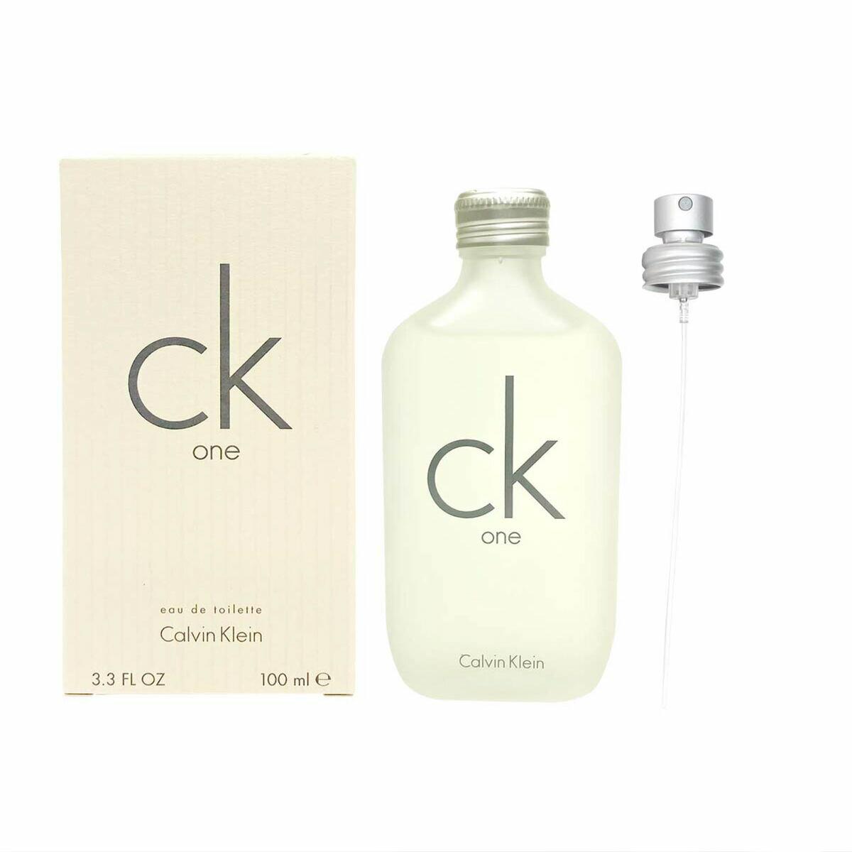 【父の日 プレゼント 早割】【名入れ対応】カルバンクライン 香水 メンズ レディース CK ONE シーケーワン EDT SP 100ml Calvin Klein CK one 正規品 セール あす楽ブランド 新品 新作 2019年 ギフト