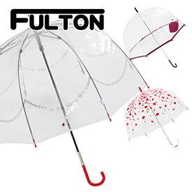 フルトン fulton 傘 かさ 雨傘 バードケージ birdcage ビニール傘 長傘 英国王室御用達 ルル ギネス Lulu Guinness UK デザイナーコラボ 正規品 セール 傘 プレゼント ギフト かわいいブランド 新品 新作 2019年