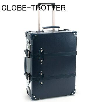 グローブ・トロッターGLOBE-TROTTERキャリーケーススーツケース旅行かばん21CENTENARYセンテナリートローリーケースネイビーGTCNTNN21TCNAVY/NAVY