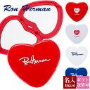 母の日 プレゼント 【名入れ】【正規紙袋 無料】 ロンハーマン ミラー コンパクトミラー ハート型 【Ron Herman RHC F…