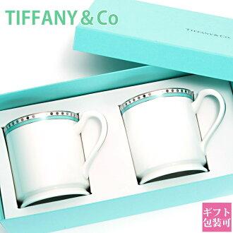 Name put Tiffany TIFFANY & co mug mugs Platinum blue band mug bone China tableware wedding gifts, regular gifts / store / brands / senior sale simple / new / memorabilia / 10800 Yen at / gift _ marriage 内祝i