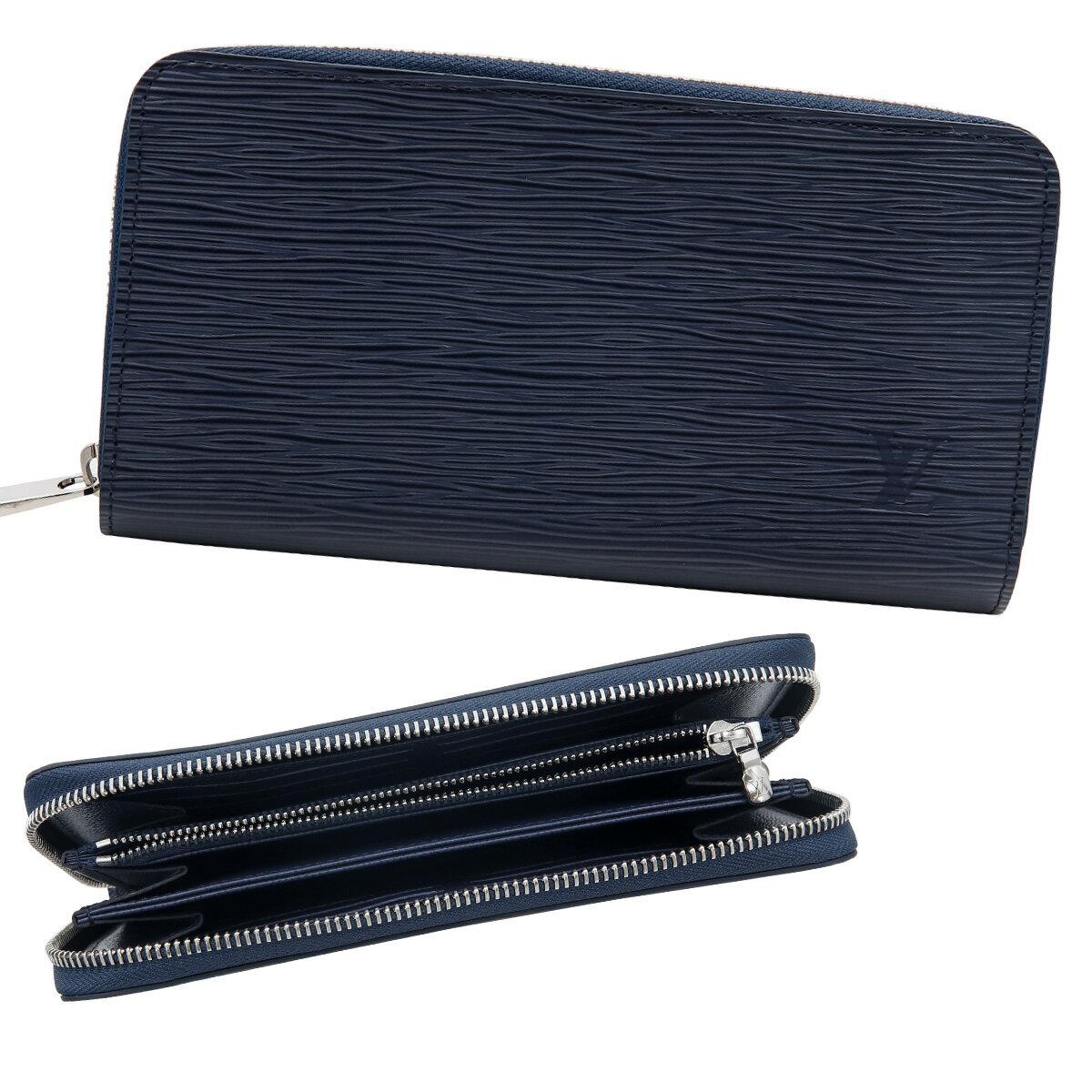 新品 新作 ルイヴィトン Louis Vuitton 財布 長財布 小銭入れあり メンズ レディース ラウンドファスナー エピ ジッピー・ウォレット アンディゴブルー M61873 正規品 セール 新生活 入学祝い 2018 ブランド品