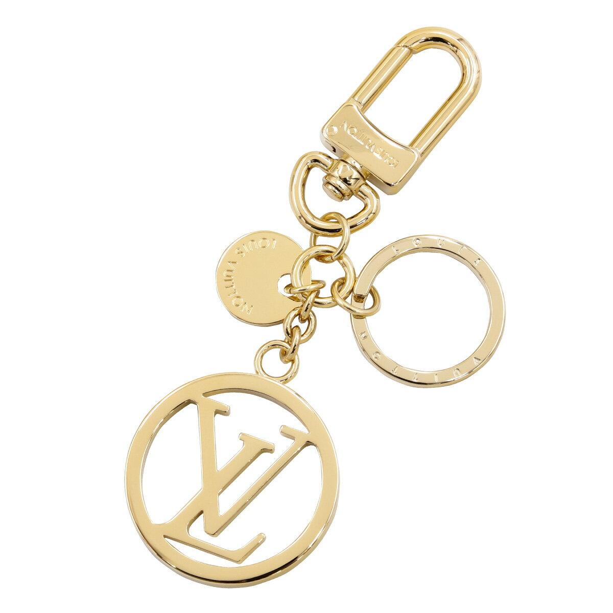 新品 新作 ルイヴィトン Louis Vuitton キーリング レディース キーホルダー バッグ チャーム・LV サークル ゴールド M68000 正規品 セール 新生活 入学祝い 2018 ブランド品