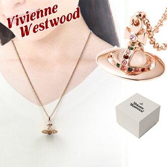 新货维维恩维斯特伍德Vivienne Westwood nekkuresumenzuredisupendantotainiobupendantopinkugorudo 752014B/3 PINK GOLD正规的物品/就职祝贺敬老日促销2017/名牌品简单/新作品