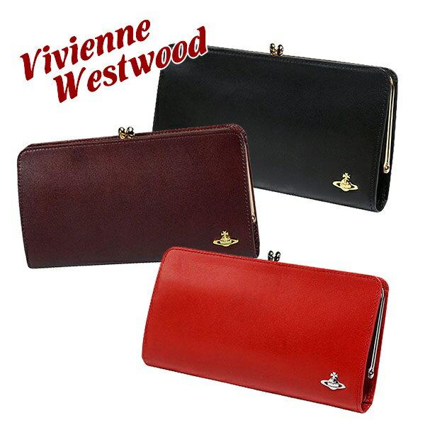 送料無料 新品 名入れ ヴィヴィアンウエストウッド Vivienne Westwood 財布 長財布 名入れ レディース ヴィンテージ WATER ORB 長財布 がま口 3118M11 正規品 通販 ブランド品
