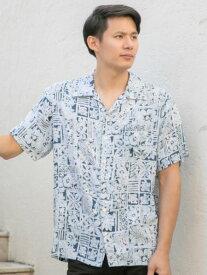 【SALE】Kahiko 公式 《ホヌノアメンズシャツ》 カヒコ ハワイアン ファッション メンズトップス 4IA-9121
