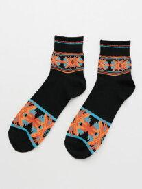 チャイハネ 公式 《ティーブミドルソックス(27cm)》 エスニック アジアン ファッション雑貨 靴下 CISP9203