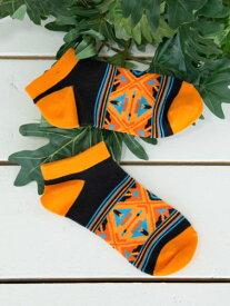 チャイハネ 公式 《ティーブくるぶしソックス(27cm)》 エスニック アジアン ファッション雑貨 靴下 CISP9204