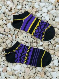 チャイハネ 公式 《ワナくるぶしソックス(27cm)》 エスニック アジアン ファッション雑貨 靴下 CISP9212