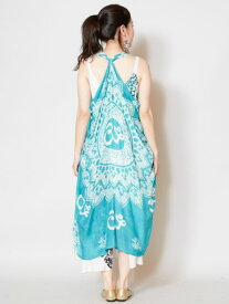 【SALE】チャイハネ 公式 《オムベストパレオ》 エスニック アジアン ファッション雑貨 ストール/パレオ IDSP9109