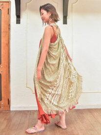 【SALE】チャイハネ 公式 《ジャメルベストサローン》 エスニック アジアン ファッション雑貨 ストール/ショール IDSP9112