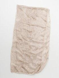 欧州航路 公式 《ペーズリー刺しゅうストール》 ヨーロッパ 雑貨 ファッション ファッション雑貨 ストール/ショール/スカーフ LCOP9101