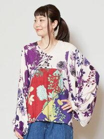 チャイハネ 公式 《エリーサTOP》 エスニック アジアン ファッション トップス/レディース IAC-9303