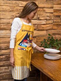 欧州航路 公式 《カラメラエプロン》 ヨーロッパ 雑貨 ファッション インテリア キッチンアイテム LIKP9352