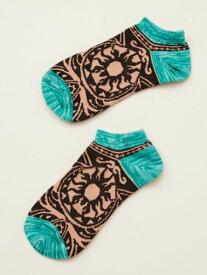 チャイハネ 公式 《トライバクルブシソックス(24cm )》 エスニック アジアン ファッション雑貨 靴下 CISP6102