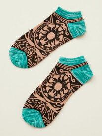 チャイハネ 公式 《トライバクルブシソックス(27cm )》 エスニック アジアン ファッション雑貨 靴下 CISP6103