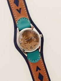 【お買い物マラソンSALE】チャイハネ 公式 《パチパチウォッチ》 エスニック アジアン ファッション雑貨 腕時計/ベルト CTEZ8103