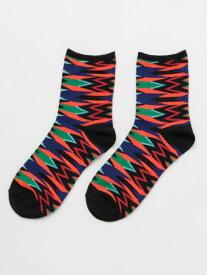 チャイハネ 公式 《ジオネミドルソックス(24cm)》 エスニック アジアン ファッション雑貨 靴下 CISP0101