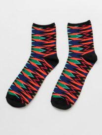 チャイハネ 公式 《ジオネミドルソックス(27cm)》 エスニック アジアン ファッション雑貨 靴下 CISP0102