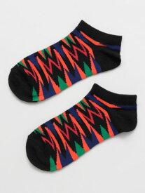 チャイハネ 公式 《ジオネくるぶしソックス(24cm)》 エスニック アジアン ファッション雑貨 靴下 CISP0103