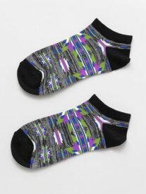 チャイハネ 公式 《ティバクルブシソックス(24cm)》 エスニック アジアン ファッション雑貨 靴下 CISP0107