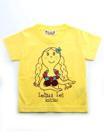 【SALE】Kahiko 公式 《【Kids】マハロメレTシャツ(90cm)》 カヒコ ハワイアン ファッション レディースTシャツ/キッズWEAR 4JM-4604