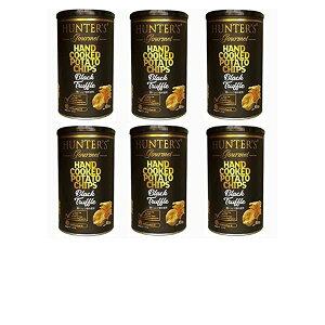 まとめ売り 6個セット ビック缶 150g 今夜比べてみました ハンターズ 黒トリュフ ポテトチップス ハンター 150g Big缶 HUNTERS 成城