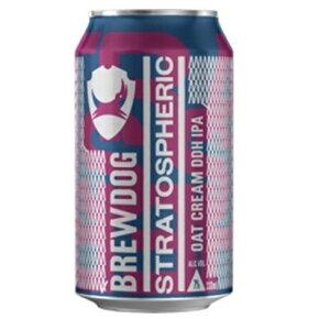 <限定入荷!> ブリュードッグ ストラトスフェリック ダブルホップ IPA 缶 7.0% 330ml