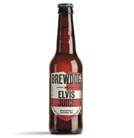 【ケース販売】 【送料無料】 ブリュードッグ エルビスジュース (瓶) (330ml×24本) スコットランド