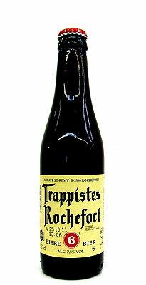 ロシュフォール 6 (シックス) 7.5度 / 330ml / トラピストビール タイプ