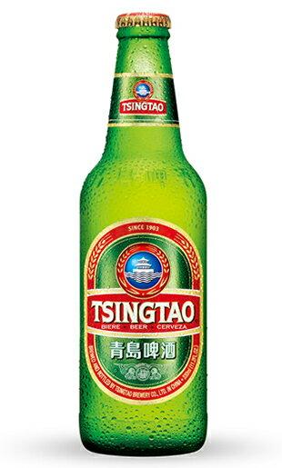 青島(チンタオ)ビール (瓶) 4.5% / 330ml / ピルスナー タイプ / 中国