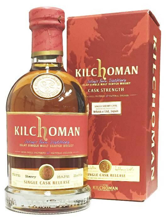 キルホーマン 2011 シェリーホグスヘッド 58.3% 700ml