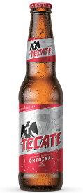 <輸入元、在庫過多の為、特価品!> テカテ ビール (瓶)4.5% 355ml ペールラガー タイプ メキシコ <賞味期限2021年1月31日の商品!>