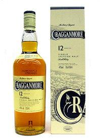 クラガンモア 12年 シングルモルトウイスキー 40% 700ml 正規輸入品