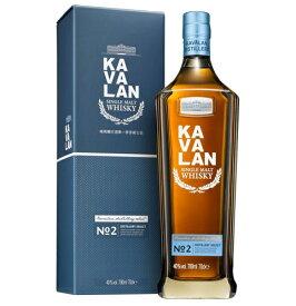 <新発売!> カバラン ディスティラリーセレクト No.2 40% 700ml 台湾 ウイスキー